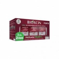 """""""Биоксин Форте"""" билков шампоан срещу интензивен косопад за всички типове коса, ПРОМОЦИОНАЛНА ОПАКОВКА - 3 броя по 300 мл"""