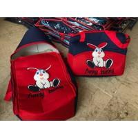 Комплект - Чанта за Мама и кошче с дръжки за Бебе