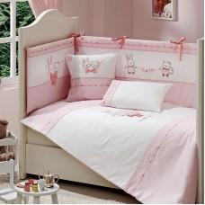 Комплект за сън Funna Baby Lily & Mily Sleep - 80х140 см, 8 части