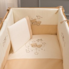 Комплект за сън DREAMS-BEIGE - 70х130 см, 7 части
