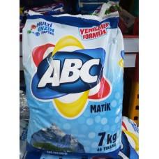 ABC - 4,5 кг - прах за пране за бяло и цветно пране