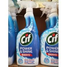 Cif Power&Shine, спрей - концентриран препарат за почистване на баня - 750 ml