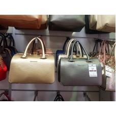 Ежедневна дамска чанта от еко кожа в различни цветове - ИЗЧЕРПАН!