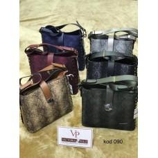 Дамска ежедневна спортно-елегантна чанта в различни цветове