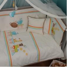 Комплект за сън за бебе - 80/140 см, 8 части