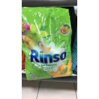Rinso - 5 кг -  прах за  цветно и бяло пране